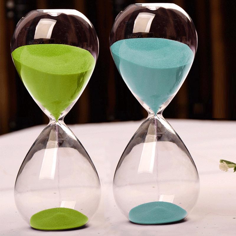 Classic Sand Glass Sandglass Hourglass Timer Home Tabletop Decor 5 Minute #75130(China (Mainland))