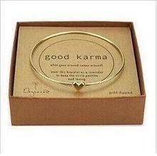 Gold  fashion Jewelry Love Heart bracelet Lucky sweet peach heart wishing Love bracelets for women no box packing(China (Mainland))