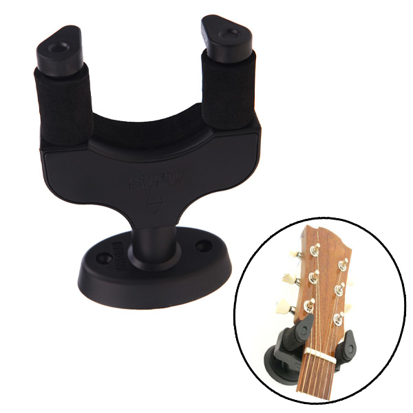 Guitar Accessories Guitar Wall-mounted Hanger Rack Hook Easy to Installfor All Guitar Bass Ukelele Instrument Aroma AH-81(China (Mainland))