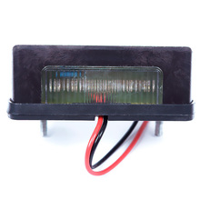 12/24V LED Number Licence Plate Light Rear Tail Lamp Truck Trailer Lorry(China (Mainland))