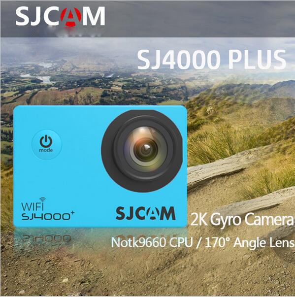 Original SJCAM SJ4000 Plus WiFi 2K Gyro Sport Action Camera Novatek 96660 2K 30FPS 1.5inch 170 Degree Wide Angle  Sports Camera