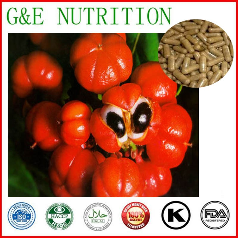 GMP factory supply slimming capsule of Guarana Extract capsules , 500mg x 500pcs<br><br>Aliexpress