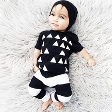 Hot Sale Children Summer Suit Newborn Baby Boys Clothes Set Kids Casual Comfy Short Sleeves Clothing Sets Shirt+Pants