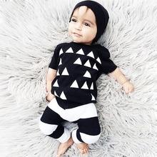 Hot Sale Children Summer Suit Newborn Baby font b Boys b font Clothes Set Kids Casual