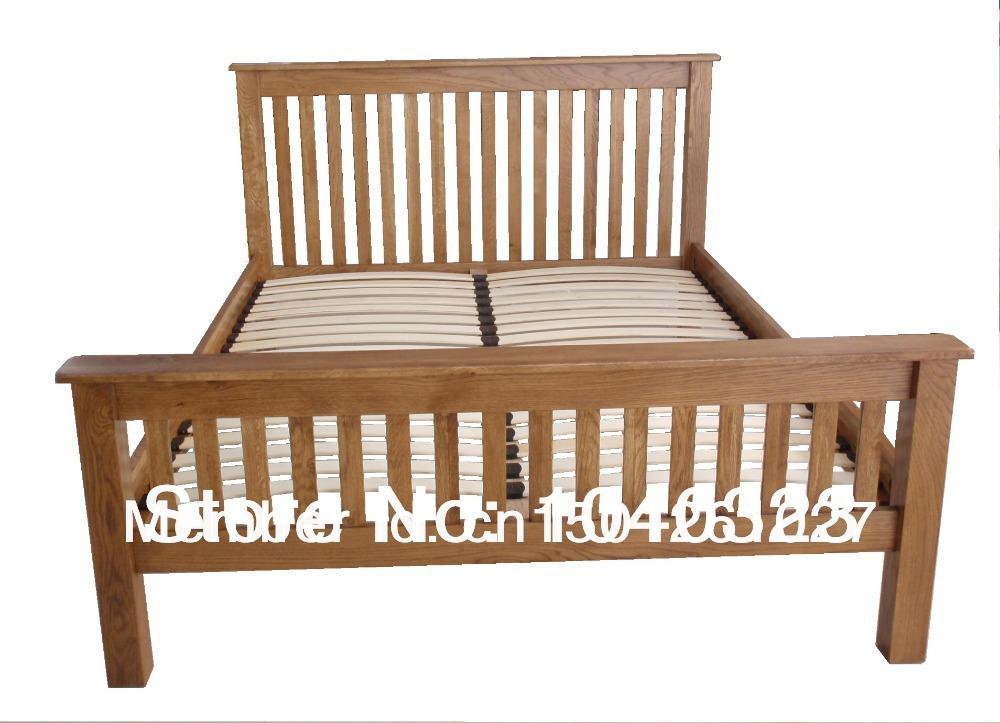 Manufacturer Solid Wood Furniture Bedroom King