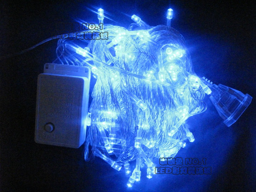 Holiday outdoor led string lights christmas wedding party for Led outdoor decorations