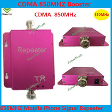 Direct Marketing CDMA 850MHz 60dB Gain GSM 850MHz Cell Phone repeater Amplifier signal booster for home and office(China (Mainland))