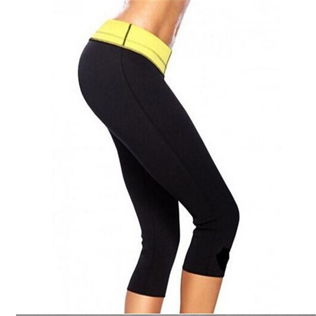 2016 горячей неопрена для похудения формирователь брюки для женщин спортивные брюки ...