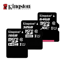 Kingston Class 10 Micro SD Card 16GB 32GB 64GB 128GB Memory C10 Mini C4 4GB 8GB SDHC SDXC TF Smartphone - XR store