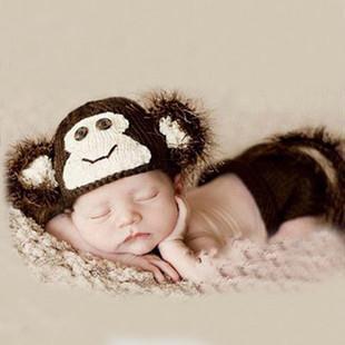 Рождения девочки мальчик одежда комбинезон бабочка дизайн вязать фото опора наряды 6706