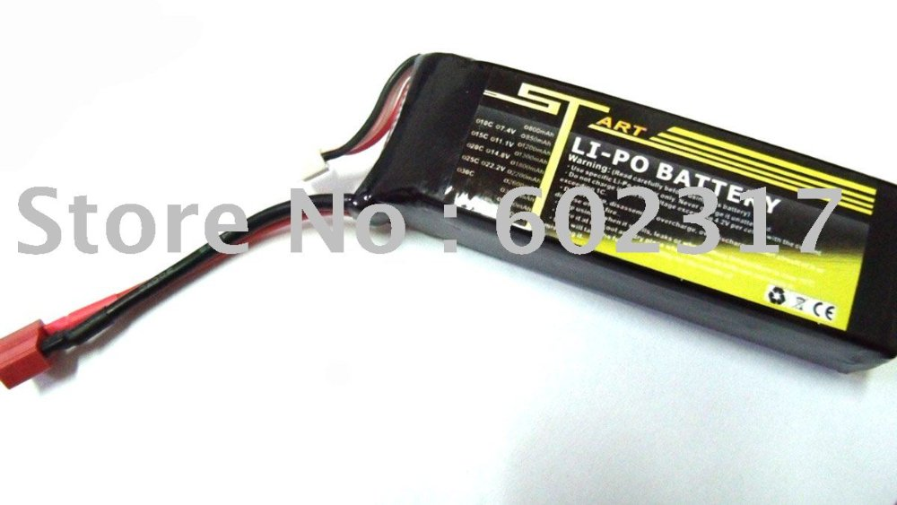 2 pcs RC helicopter Trex  3D flying Battery ST 4S1P 4S 14.8V 2200mah 20C Lipo Battery kids toy<br><br>Aliexpress