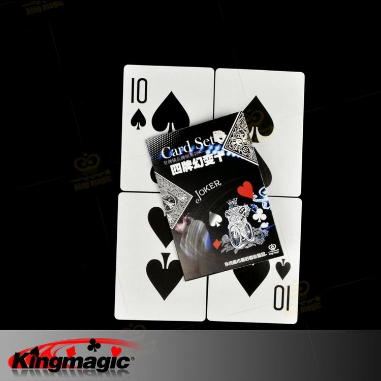 أربع بطاقات كبيرة للحصول على بطاقة ماجيك كلاسيك الدعائم 5 قطع كل الكثير(China (Mainland))