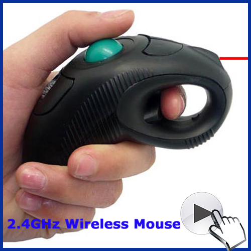 2016 Luxury Laser Mouse Usb RF Mice Cool Finger Wireless Handheld Trackball Mouse Upright Vertical PPT Mouse for Computer laptop(China (Mainland))
