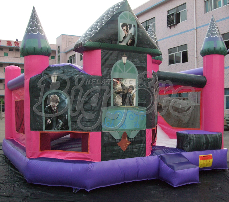 Bouncy Castle Inflatable Bouncer Jumping House With Air Blower(China (Mainland))