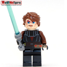 Single Sale Star Wars Minifigures Darth Revan Yoda Obi Wan Han Solo Clones Princess Leia Classic figuresBest Children Gift toys(China (Mainland))