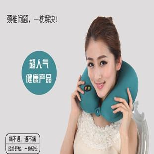 Gelanfu u massage pillow vibration usb charge memory pillow cervical massage device. Free shipping.Gift(China (Mainland))