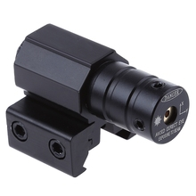 Buy 8833 JG 50-100 Meters Range 835 655nm Pistol Rifle Picatinny Weaver Rail Red Dot Laser Sight Scope Mount Hunting Optics for $7.34 in AliExpress store