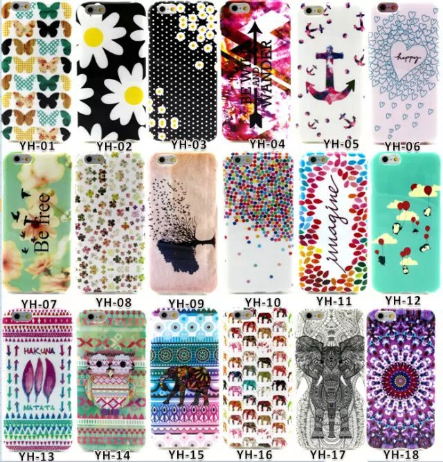 Cases sFor iPhone 6 6S Fashion Cute Design Phone Case 4.7 inch TPU Silicone Soft Back Cover Funda Coque - Lyn-K Electronic Co., Ltd store