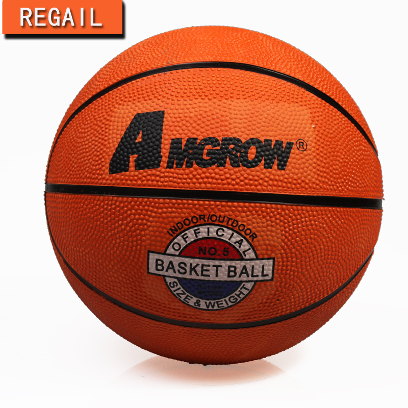 2016 Hot Sale Outdoor Indoor Game Size 5 / Size 7 Small Rubber Pelota Basketball Ball for Baby Child(China (Mainland))