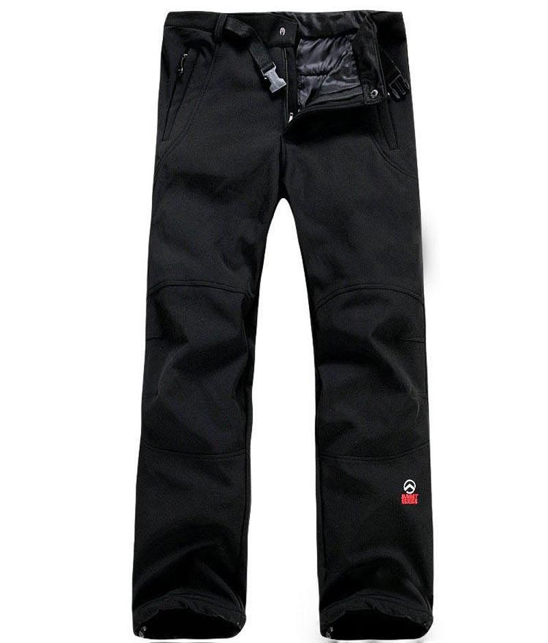 2016 Winter Summit Series Outdoor Hiking Pants Men/Women Softshell Pants, Fleece Lining Thermal Camping Skiing Trekking Pants<br><br>Aliexpress