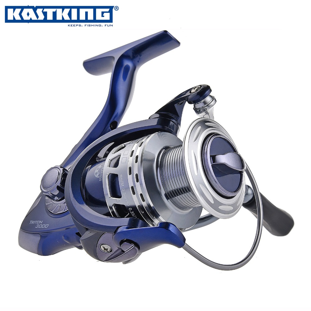 KastKing Triton 11BBs Spinning Reel Fishing Reel For Carp Fishing Pesca Sea Fishing Spinning Carretilha Reels 2500,3000,4000(China (Mainland))