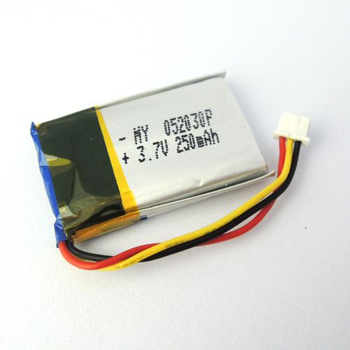 Großhandel meine 052030 P 3,7 V 250 mAh Lithium-Polymer-Akku(China (Mainland))