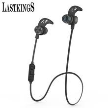 Lastkings bluetooth earphone wireless headset for phone Noise Cancelling with Mic Microphone sport waterproof(China (Mainland))