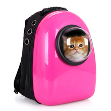 Small Pet Cat Carrier backpack Space Capsule Shaped Breathable pet dog Outdoor portable Package bag cat bags Pet Travel(China (Mainland))