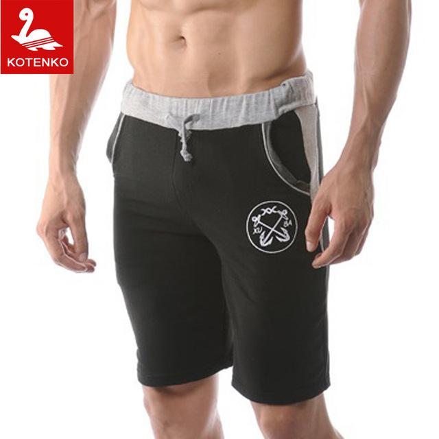 Горячая! мужчины спортивные шорты бренд хлопок пляж боксер сексуальные спортивная ...