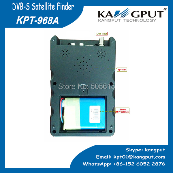 2015 NEW 3.5 Inch Handheld satellite finder With signal quality LED display (KPT-968A)(China (Mainland))