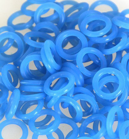 500Pcs 100Pcs/Bag Tattoo Rubber Bands Shockproof Circle Tattoo Accessories I274(China (Mainland))