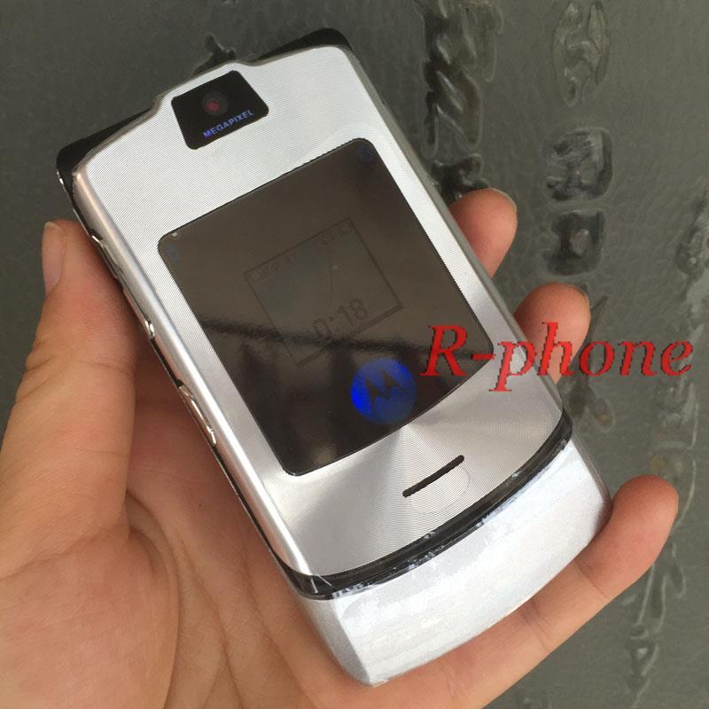 Hot Sale Classic Unlocked Motorola RAZR V3i Mobile Cell Phone Refurbished 2G GSM Phone(China (Mainland))