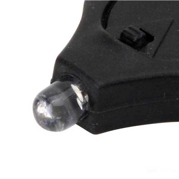 Diamondville Mini LED Flashlight holder keyring Keychain Torch New(China (Mainland))