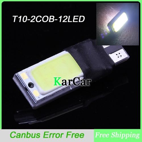 Источник света для авто OEM 10PCS/Lot W5W 12 , T10 Canbus