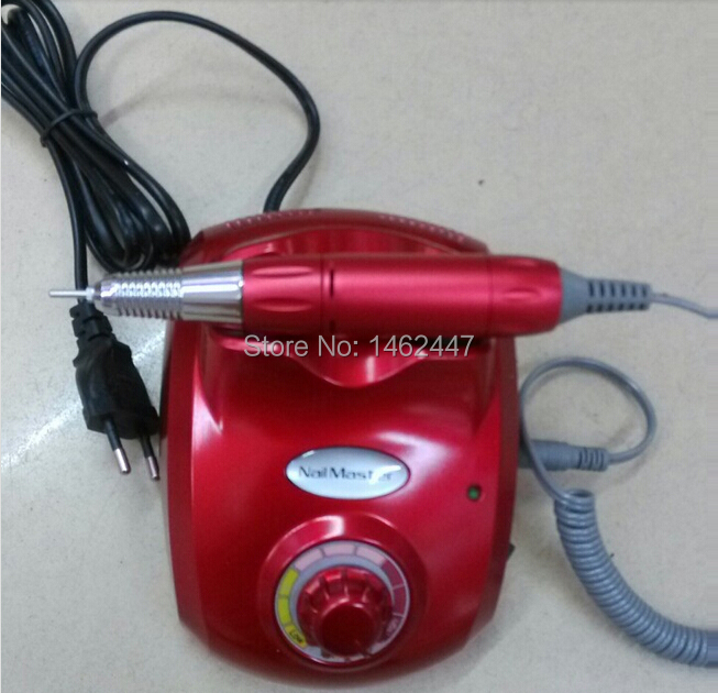 DHL Free Shipping High quility 35000rpm 110-240V World-wide Usage Electric Nail Drill Nail Master(China (Mainland))