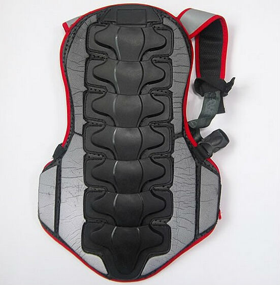 Hot Sale New Breathable Back Protector Back Piece Sports Bike Motorcycle Motocross Racing Skiing Body Armor  / Free Shipping