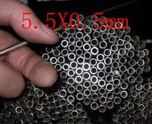 5.5X0.5mm,304 321 316 thick wall or thin wall small tube corrosion resistance to acid and alkali Capillary stainless steel pipe(China (Mainland))
