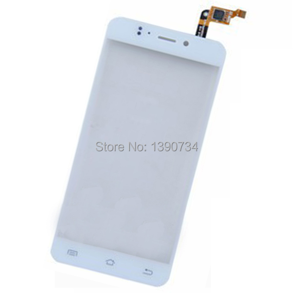 Original NEW White TOP Quality Front Glass Replacement Touch Screen Digitizer For JIAYU S2 JY-S2 Cell Phone Free Shipping