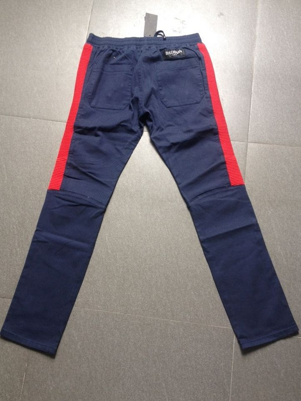 Famous Balm Mens Trousers Fashion Runway Biker Slim Stratch Washed Coated Jeans Blue 100%Cotton (055) size 30-40 FreeshippingОдежда и ак�е��уары<br><br><br>Aliexpress