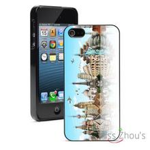 Travel the World Monuments Protector back skins mobile cellphone cases for iphone 4/4s 5/5s 5c SE 6/6s plus ipod touch 4/5/6