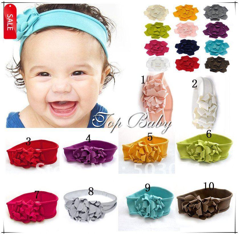 Pcs Colors Wholesale Baby Headband Toddler Handmade