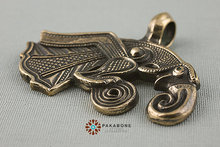 1pcs viking retro Raven of Odin Hugin Jewelry Viking Scandinavian Solid Pendant punk Necklace handmade jewelry