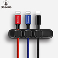 Baseus Durable Magnetic Cable Clip USB Cable Winder Cable Organizer Clamp Desktop Workstation Wire Cord With