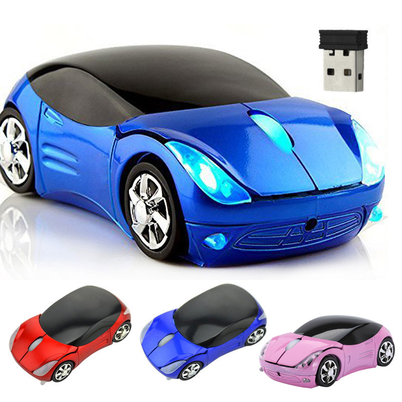 Wireless Mouse Computer Mice Fashion Super Car Shaped Game Mice 2.4Ghz Optical Mouse for PC QJY99(China (Mainland))