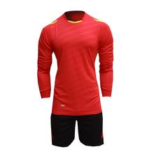 2015 16 New Men's Long Sleeve Jersey Suit Blank Training Survetement Football Tracksuit Sports Uniforms Design XXL(China (Mainland))