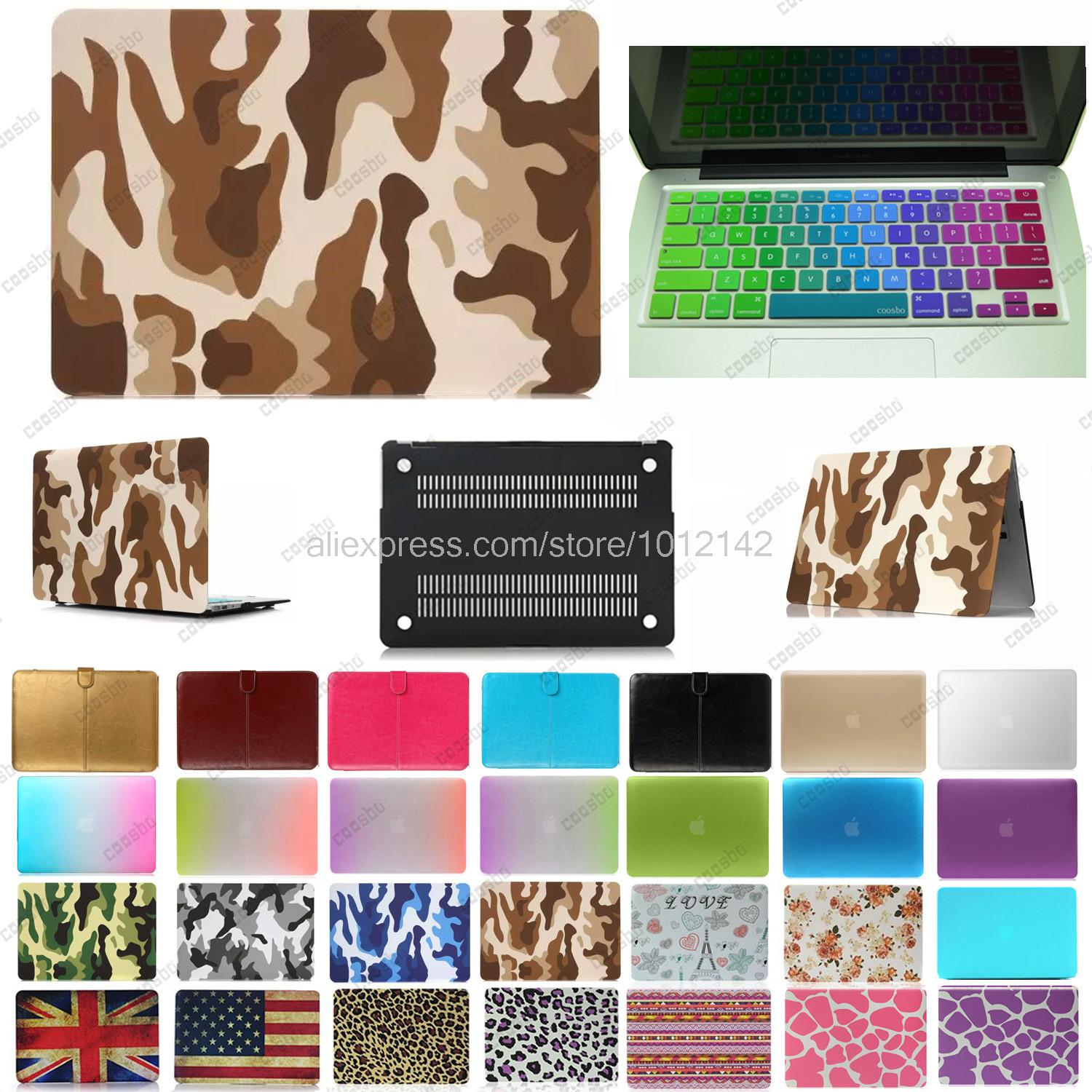 "2in1 colorful Hard shell Case For 13"" 15"" mac Macbook Air Pro Retina + russia Russian Keyboard Cover protector Skin freeship(China (Mainland))"