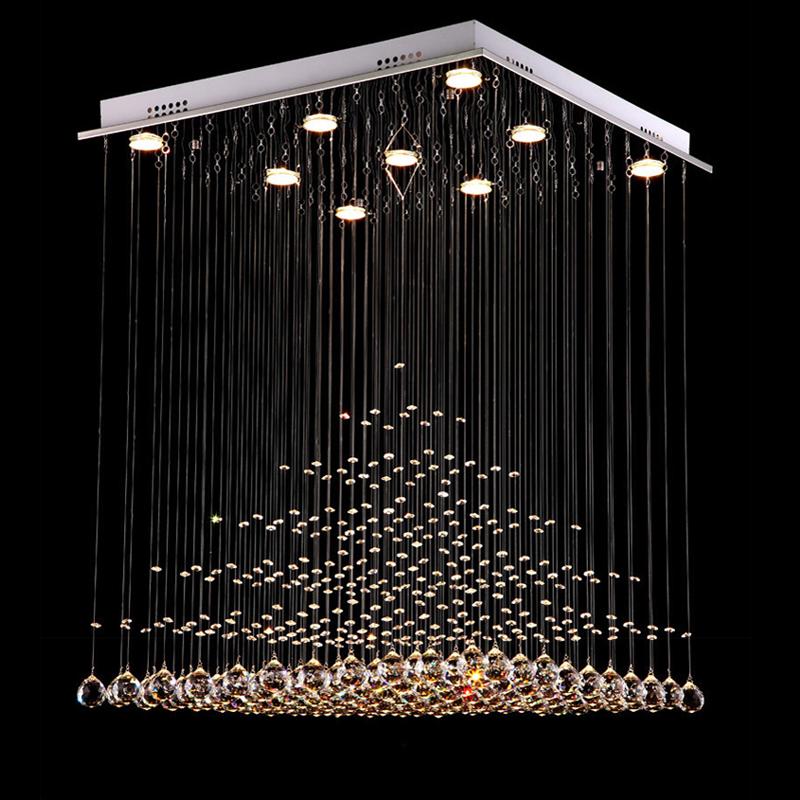 2016 Modern Crystal Chandelier Lighting Fixture Crystal