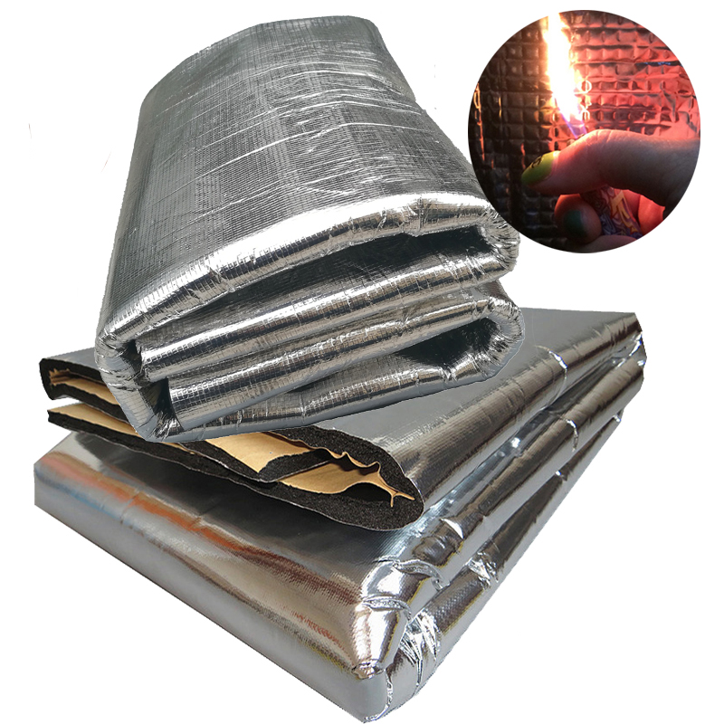 Car insulation materials stopper plate butyl rubber hood engine car insulation noise cotton damping sheet noise General Motors(China (Mainland))