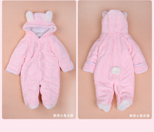 Autumn winter baby clothing coral fleece jumpsuit animal clothing romper baby clothes all for children clothes and accessories(China (Mainland))