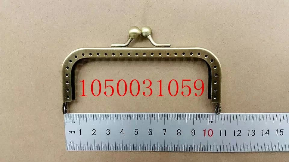 Bag Purse Metal Frame Kiss Clasp DIY Bag Clutch Accessories Sewing Bag Frame Handle Fedex Free Shipping 1050031059(China (Mainland))